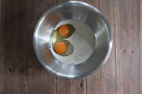 卵 さつまいもとりんごの米粉ガトーインビジブル