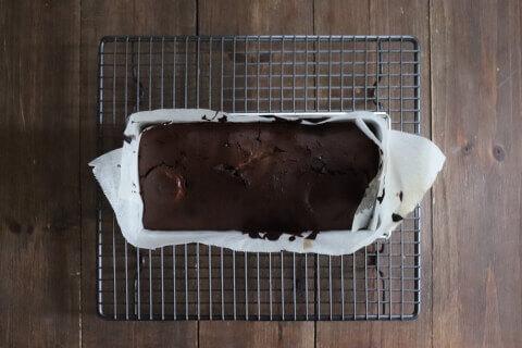 焼き上がり チョコバナナガトーインビジブル