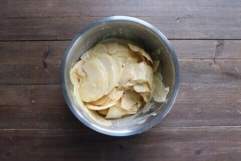 りんご混ぜる レシピ ガトーインビジブル
