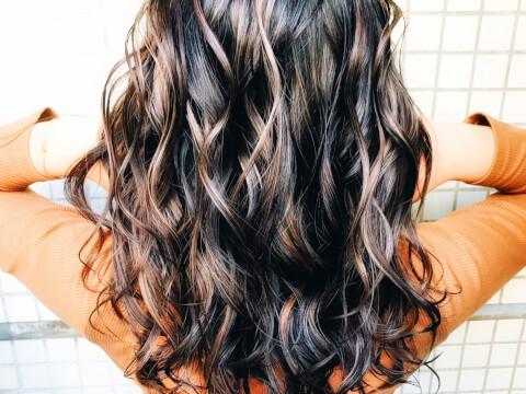 メッシュ髪