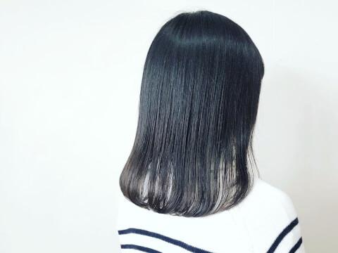 暗髪カラー_黒髪