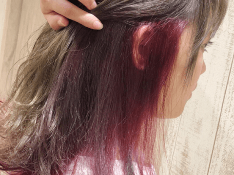 発色 ヘアカラートリートメント 使い方 ピンク 白髪  おすすめ 市販 黒 アッシュ ピンク