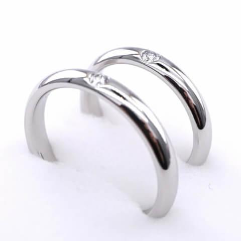 ハリー・ウィンストン結婚指輪