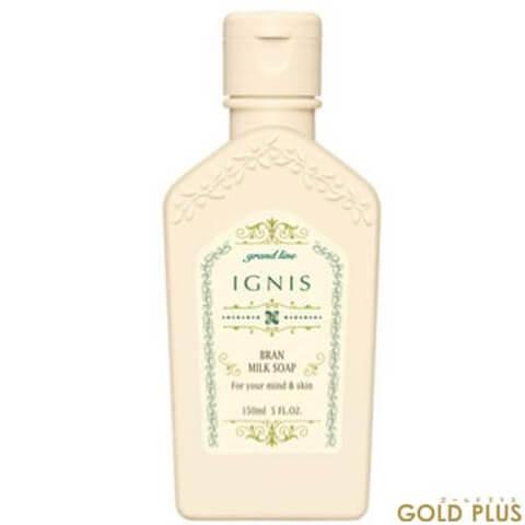 ignis bran milk soap