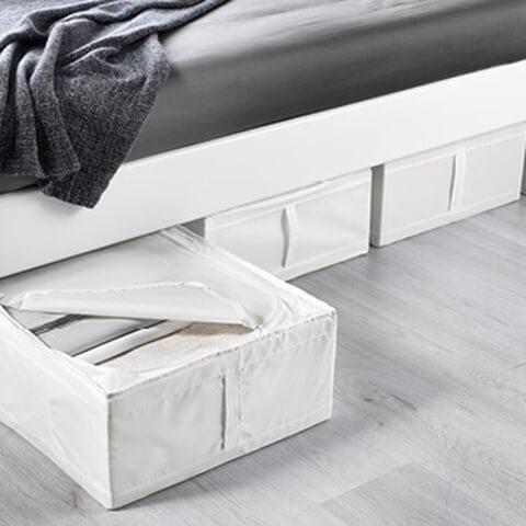 SKUBB ベッド下収納ボックス