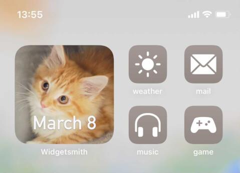 iphone ホーム画面 カスタマイズ