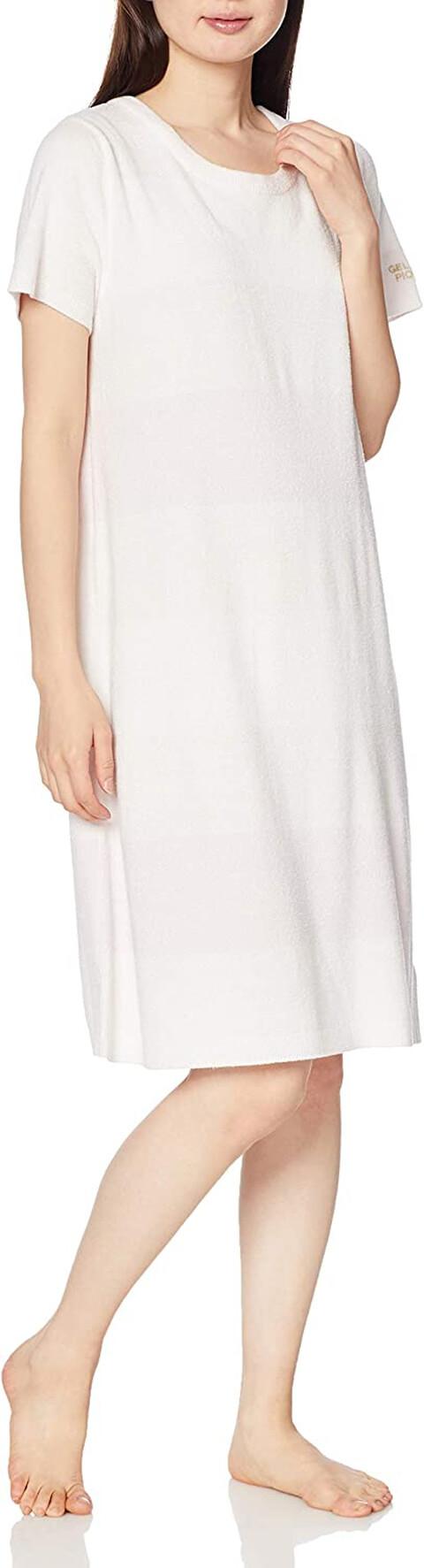 ジェラピケのスムーズィー3ボーダードレス