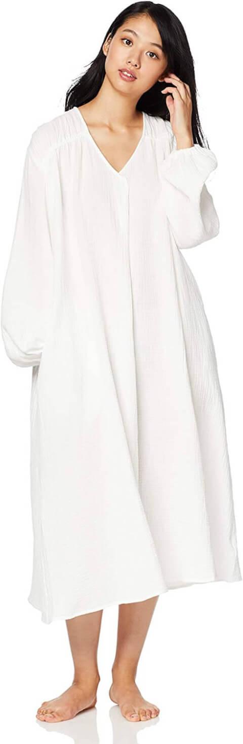 ジェラピケのホイップガーゼドレス