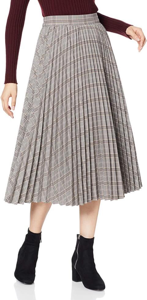 ファッション JILLSTUART ジルスチュアート スカート チェック ロングスカート