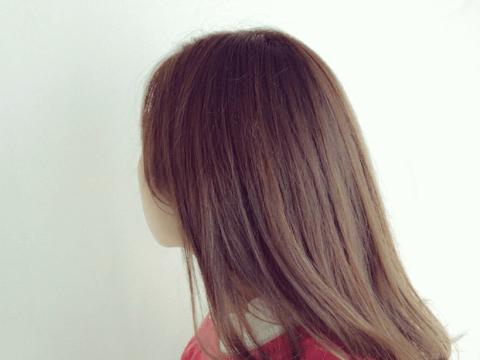 髪色 眉ティント