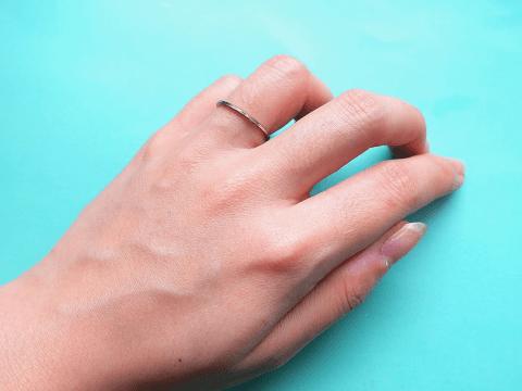 結婚指輪 付け心地