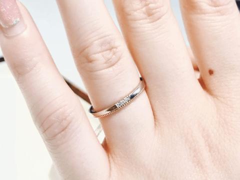 結婚指輪 テイスト