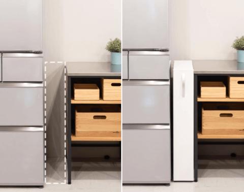 キッチンの収納アイディア2