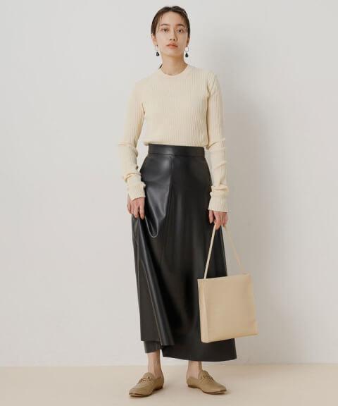 レザースカートのおすすめブランド、アイテム