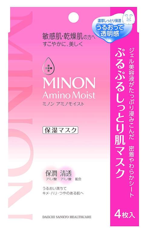 ミノン_ぷるぷるしっとり肌マスク
