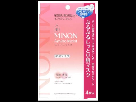 ミノン_アミノモイストぷるぷるしっとり肌マスク