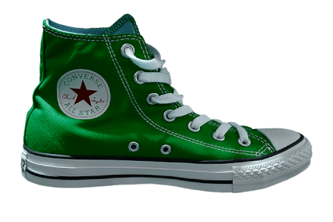 green/shoes