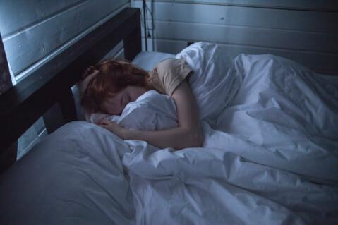 就寝時ブラ