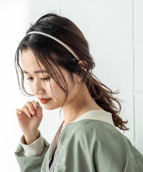 濡れ髪、ウェットヘアのスタイリング方法