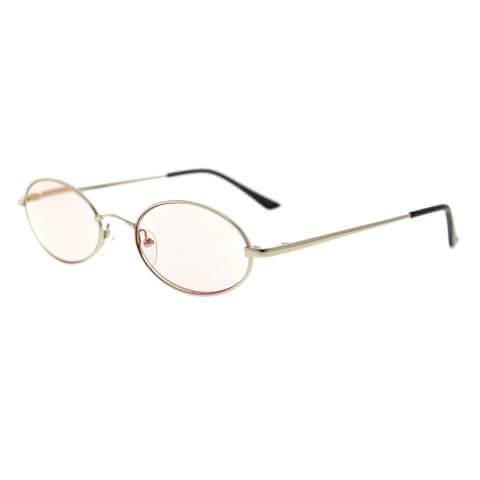 オーバルメガネ