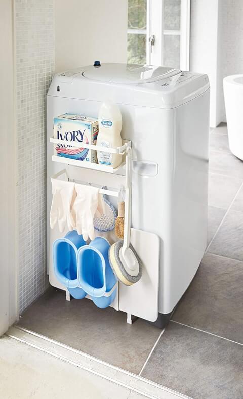洗濯機直付け収納ラック