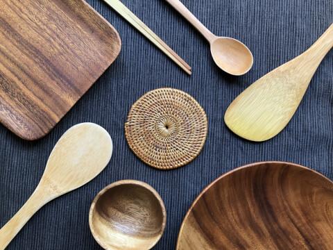 木製カトラリー おうちカフェ