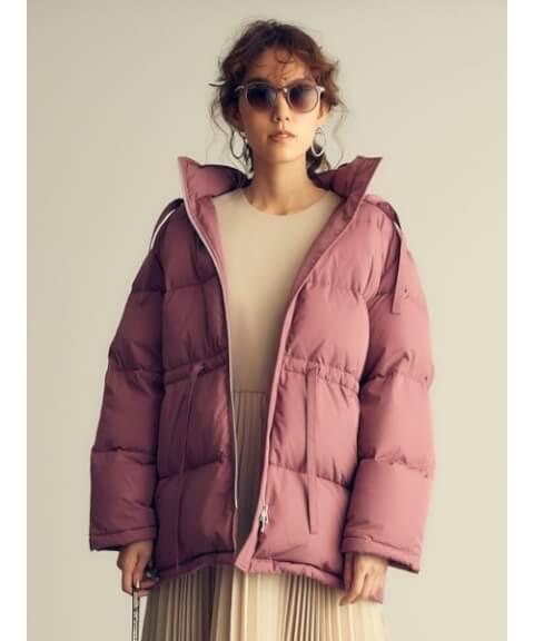 ピンク ダウンジャケット