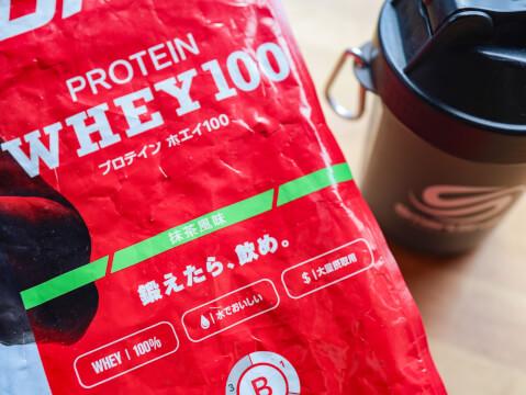 プロテイン 抹茶味