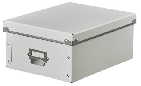 パルプ製の収納ボックス