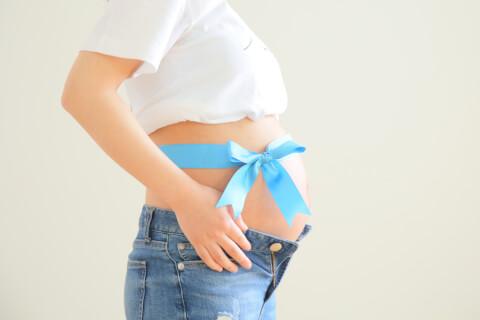 妊娠後期 お腹