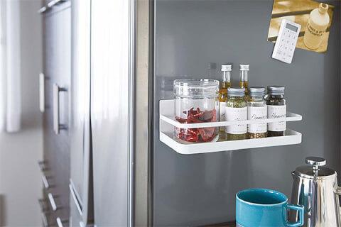 冷蔵庫横 調味料 ラック