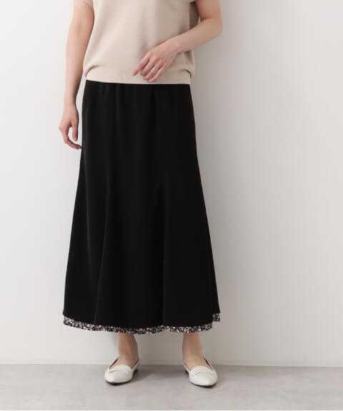 NATURAL BEAUTY BASIC(ナチュラルビューティベーシック) フラワープリントリバーシブルスカート