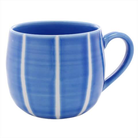 彩生陶器マグカップ