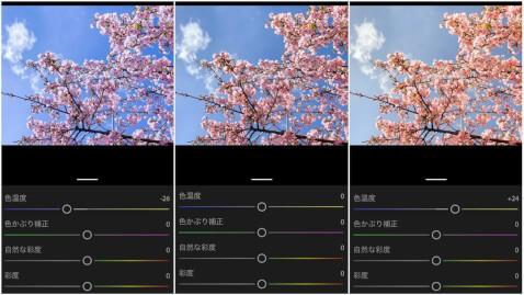 写真 色温度 レタッチ