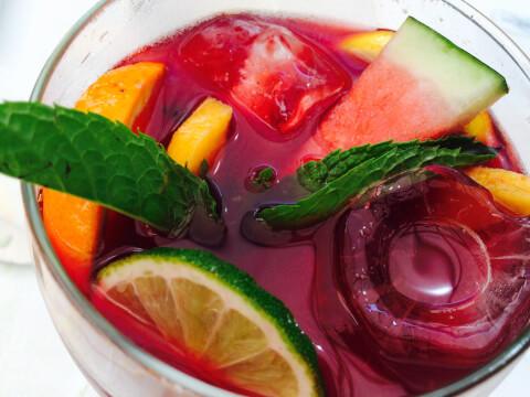 赤ワイン フルーツポンチ