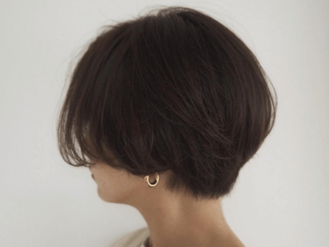 ショートヘア セルフカット