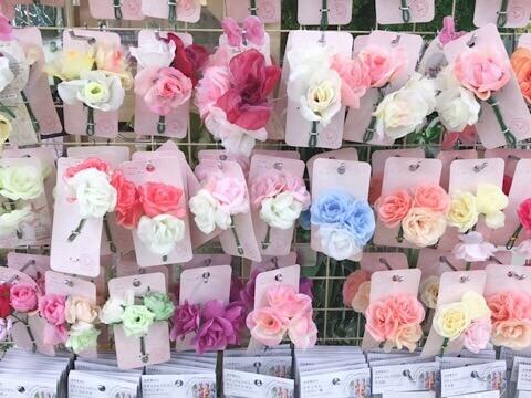 セリア-造花