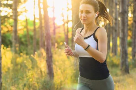 屋外での運動
