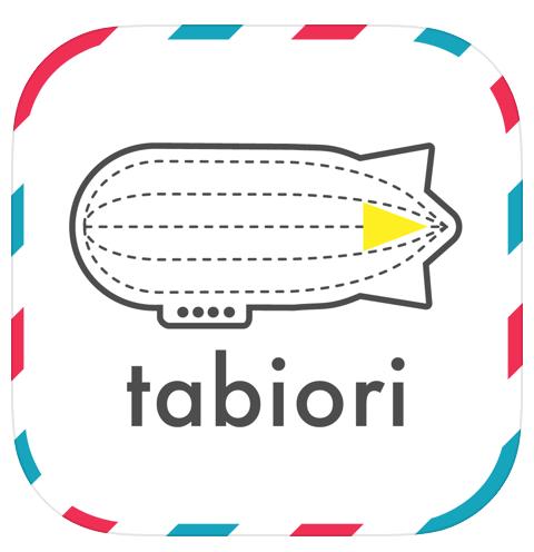 tabioriアプリのアイコン