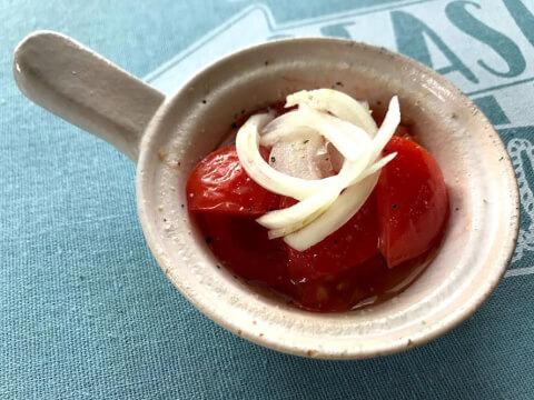酢タマネギトマト