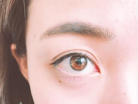 眉ティント 敏感肌