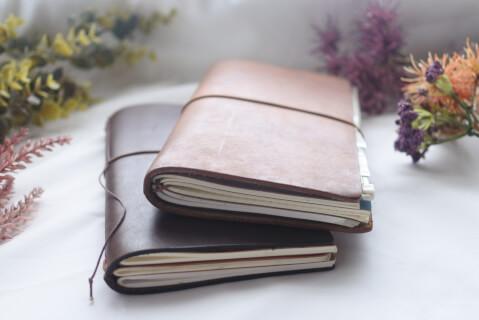 2冊重なったトラベラーズノート