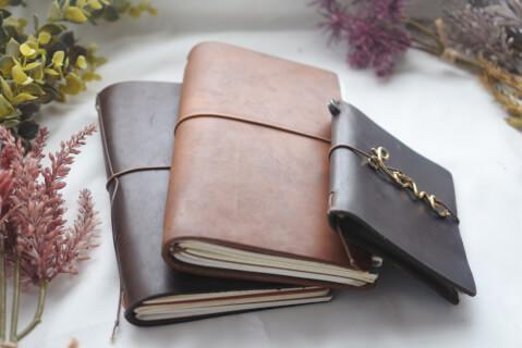 3冊のノート