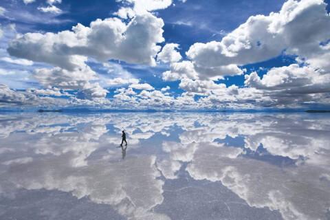 ウユニ塩湖のパズル