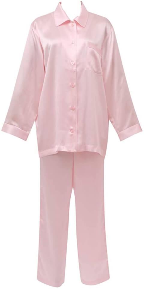 ワコール睡眠科学シルクサテンシャツパジャマ