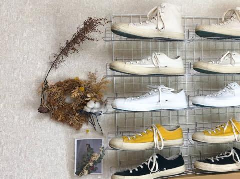 ディスプレイ 靴 壁面収納