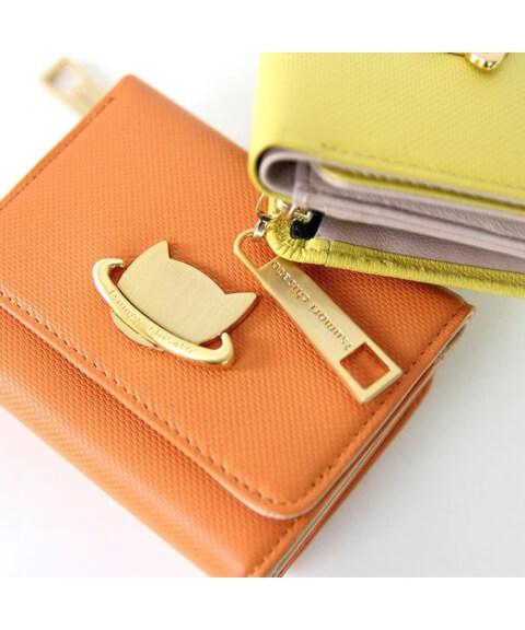 オレンジ 財布 ツモリチサト