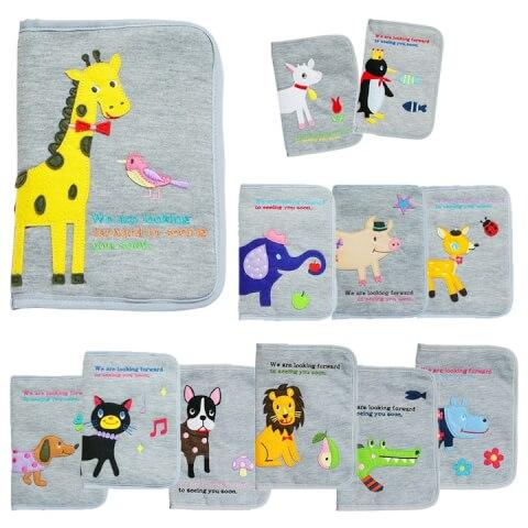 マルチケース POPINSかわいい母子手帳ケース・診察券入れ♪ファスナー式。s・m・lサイズが入る二人~三人用母子手帳カバーです。2人~3人分が入る大容量!男の子や女の子の出産祝いに人気。通帳ケース ポエティック ニックナック:Moewe global(メーヴェ)