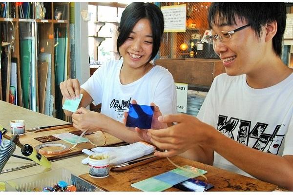 ガラス体験5,000円券&ペンダント