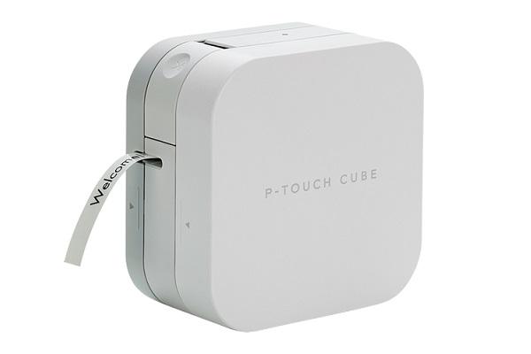 ラベルライター「P-TOUCH CUBE」